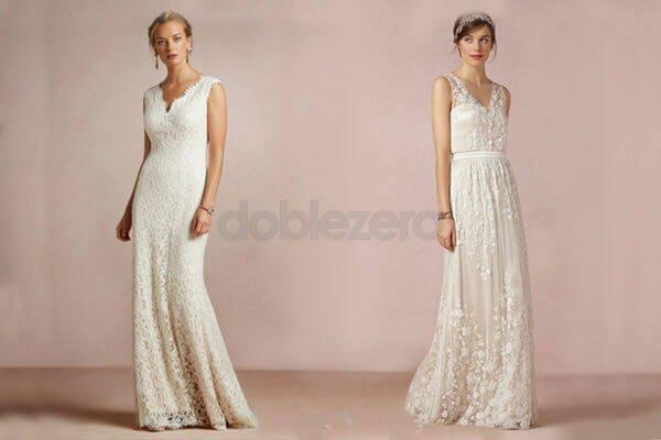 vestidos de novias con un estilo fresco y casual ¡puedes ser más