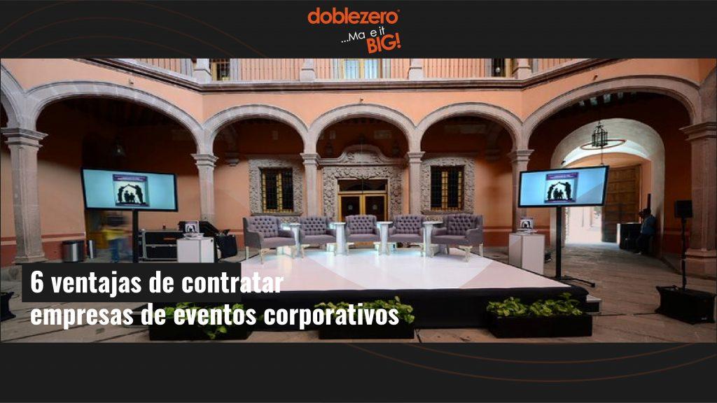 empresas de eventos corporativos